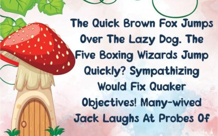 Magic Mushroom Font