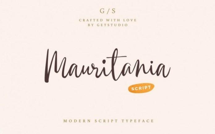 Mauritania Font