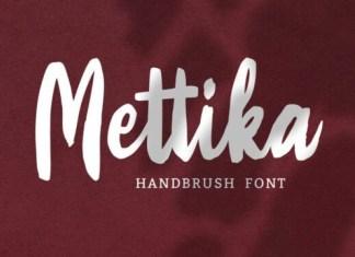 Mettika Font