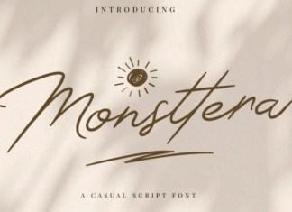 Monsttera Font