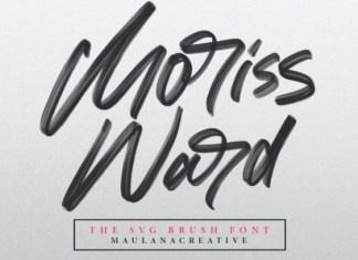 Moriss Ward Font