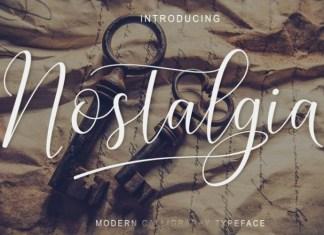 Nostalgia Font