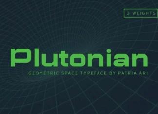 Plutonian Font