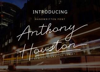 Anthony Houtson Font