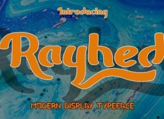 Rayhed Font