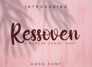 Ressoven Font