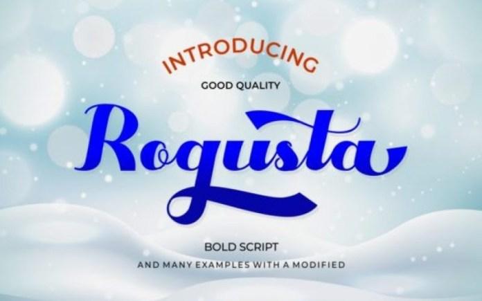 Rogusta Font