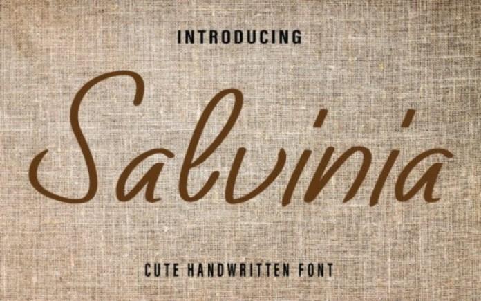 Salvinia Font