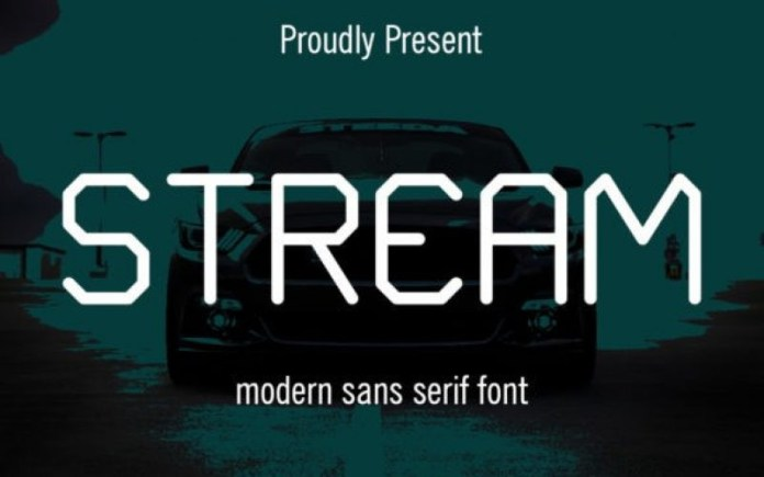 Stream Font