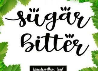 Sugar Bitter Font