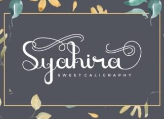 Syahira Font