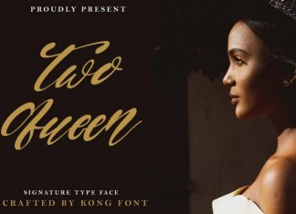 Two Queen Font