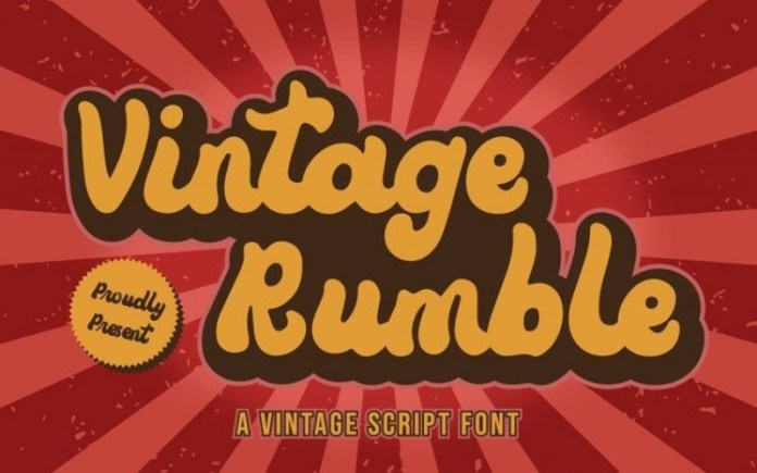 Vintage Rumble Font