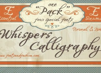 Whispers Font