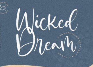 Wicked Dream Font