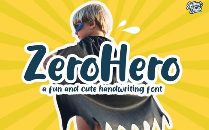 Zero Hero Font