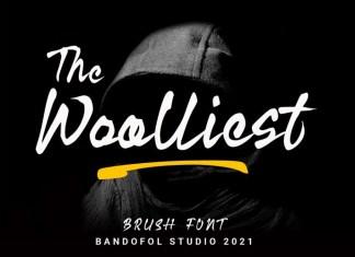 Woolliest Font