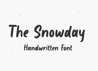 The Snowday Font