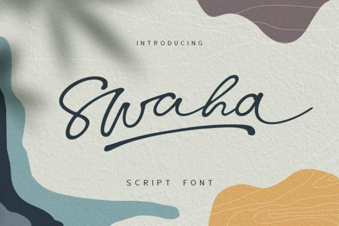Swaha Font