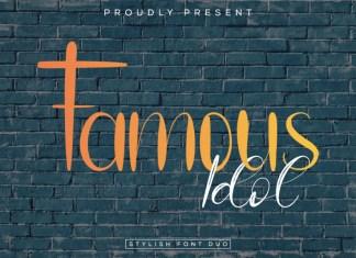 Famous Idol Font