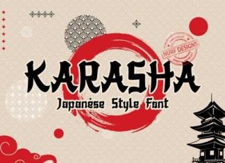 Karasha Font