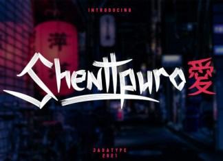 Shenttpuro Font