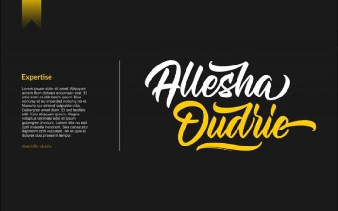 Allegra Ostade Font