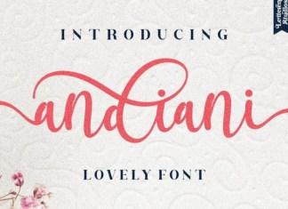 Andiani Font