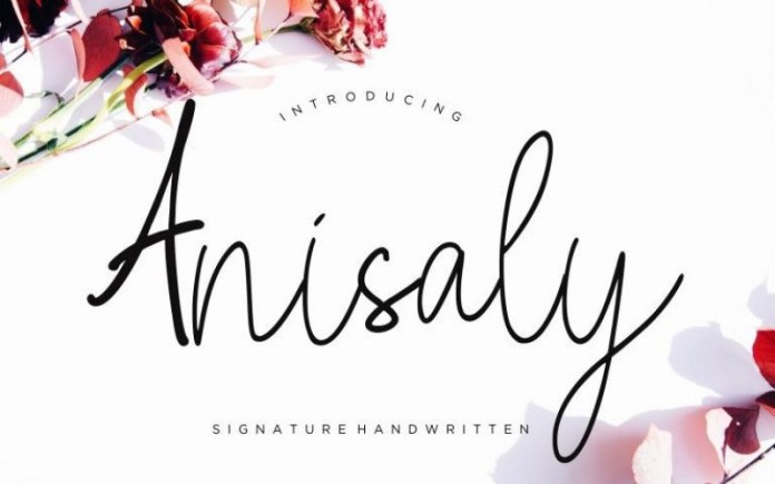 Anisaly Font