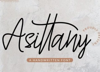 Asittany Font