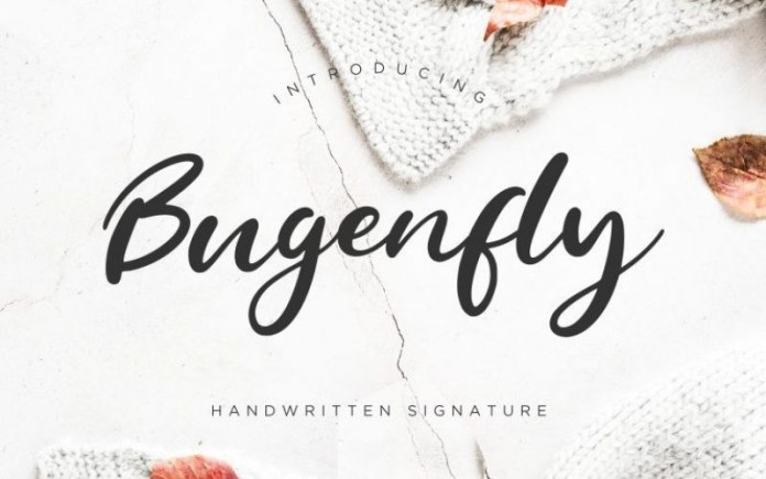 Bugenfly Font