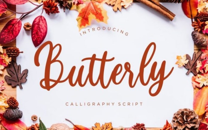 Butterly Font