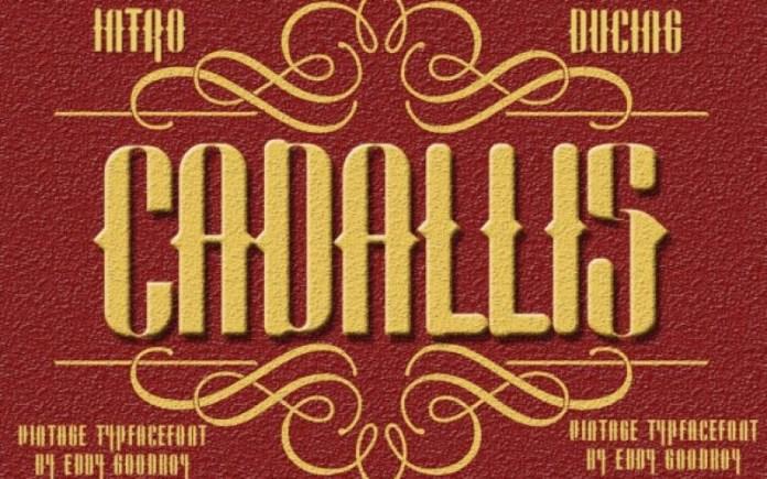 Cadallis Font
