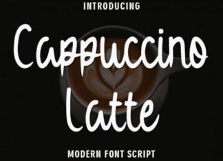 Cappuccino Latte Font
