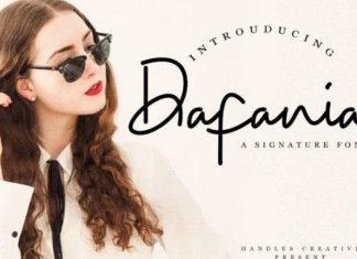 Dafania Font