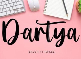 Dartya Font