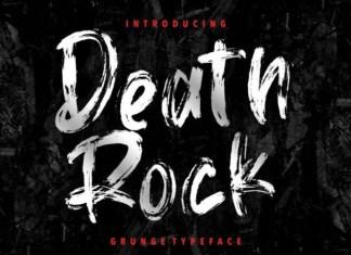 Death Rock Font