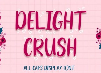 Delight Crush Font