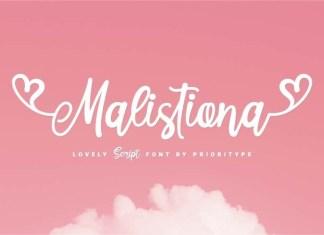 Malistiona Font