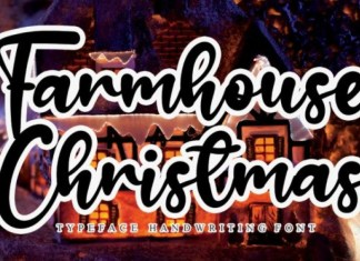 Farmhouse Christmas Font