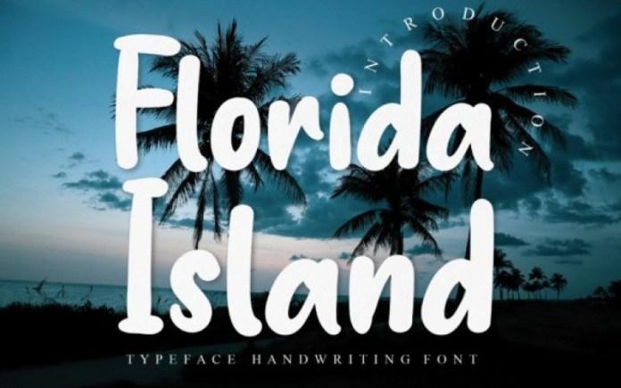 Florida Island Font