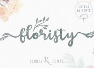 Floristy Font