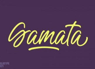 Gamata Font