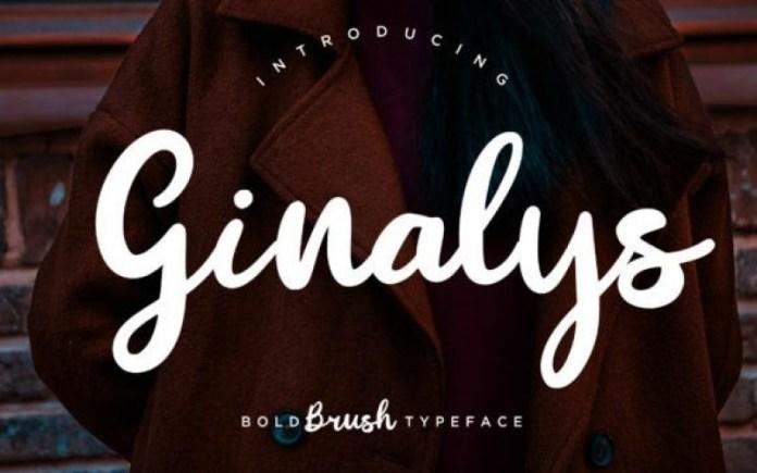 Ginalys Font