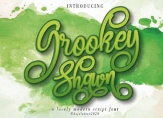 Grookey Shawn Font