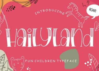 Hailyland Font
