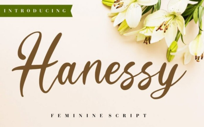 Hanessy Font