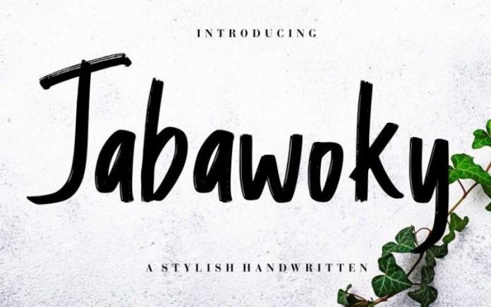 Jabawoky Font