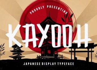 Kayooh Font