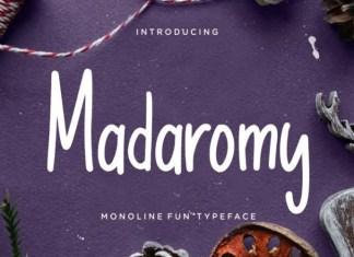 Madaromy Font
